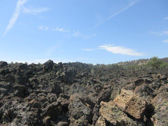 Tulelake, แคลิฟอร์เนีย: Lava landskab
