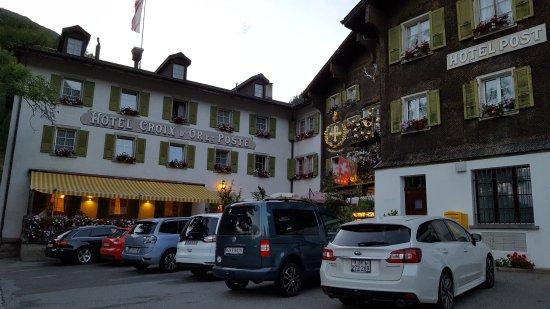 Munster, Swiss: Hotel Croix d'Or et Poste
