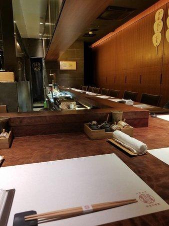 Wabiya Korekido, Gion Hanamikoji Honten: Empty restaurant when we were seated