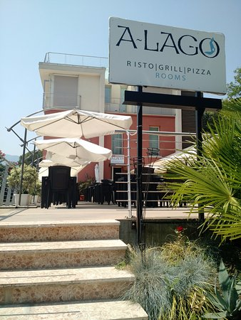 Marone, Italien: Fab lunch menu at A-Lago