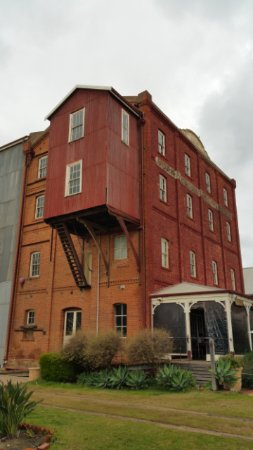York Mill Cafe: Flour mill
