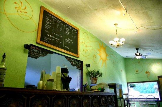 Delicious coffee in Mapleton, Oregon!