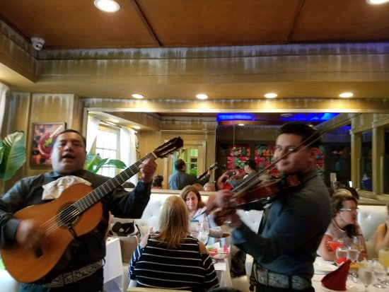 Williston Park, NY: They also have wonderful musicians playing many Mexican songs! Please tip them!
