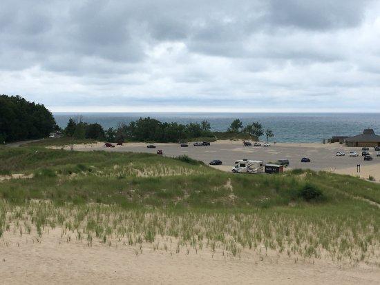 Bridgman, MI: View from the smaller dune