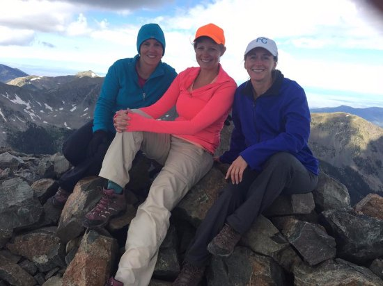 Wheeler Peak : friends at the top