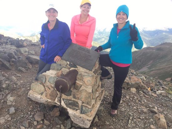 Wheeler Peak : at the top
