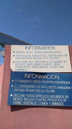 Nogales, AZ: Entrance