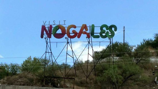 Nogales, AZ: the sign
