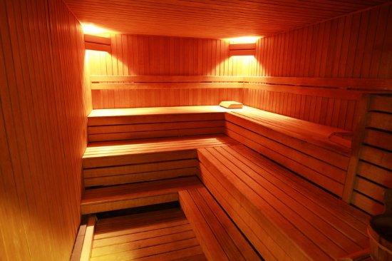 Diegem, Belçika: Sauna