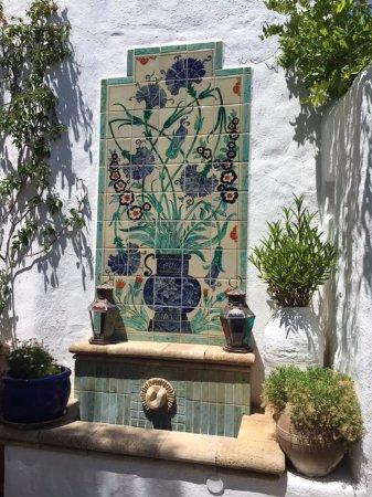 Melenos Lindos Hotel: decoracion en las areas comunes