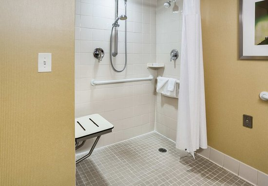 Shelton, CT: Accessible Guest Bathroom - Roll-in Shower
