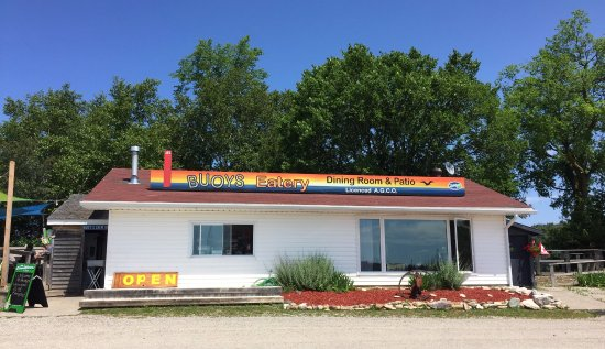 Gore Bay, Kanada: quaint little restaurant with big flavour