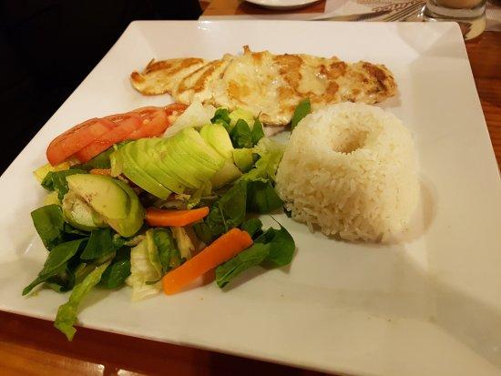 arroz pollo dieta