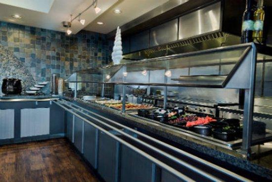 Silverdale, Ουάσιγκτον: Breakfast Area