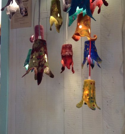 Escuminac, Canada : Les lampes fabuleuses