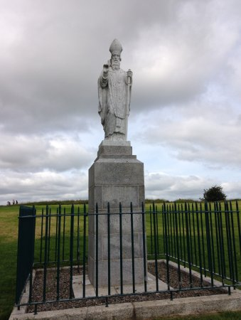 ‪‪County Meath‬, أيرلندا: St Patrick's statue at the hill of Tara‬