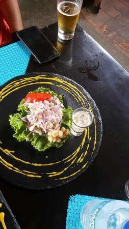 San Rafael de Escazu, Kostaryka: Ceviche