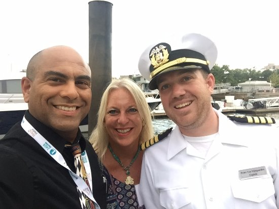 Selfie With Captain Peter Of The Odyssey Iii Picture Of
