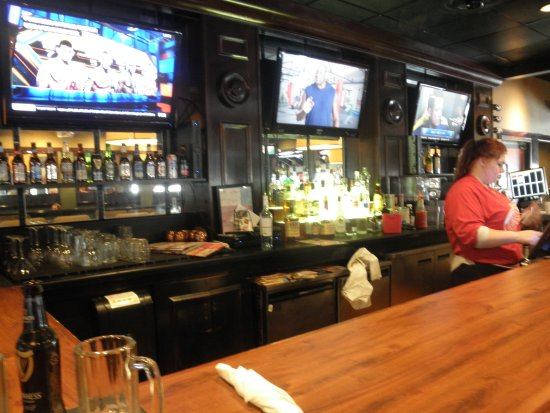 Roseville, MI: liz in the bar area....