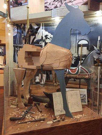 Burlington, CO: Horse cutaway