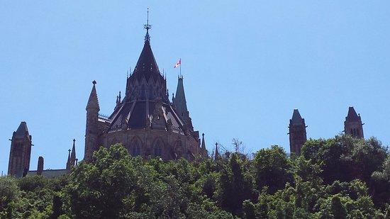 Ottawa, Kanada: Back of Parliament Hill