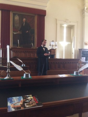 Old State Capitol State Historic Site: amazing presentation
