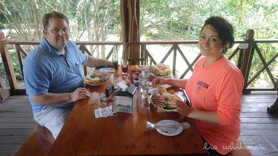 Ojochal, Costa Rica: Lunch time!