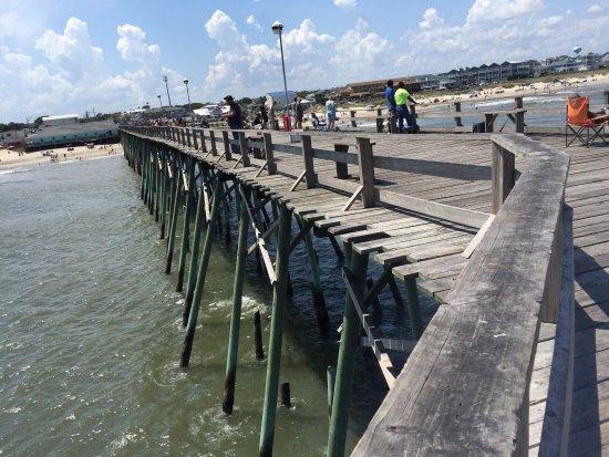 Picture of kure beach pier kure beach for Kure beach pier fishing report