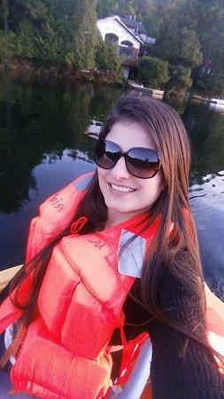 Le Boisé du Lac : passeio de pedalinho pelo lago