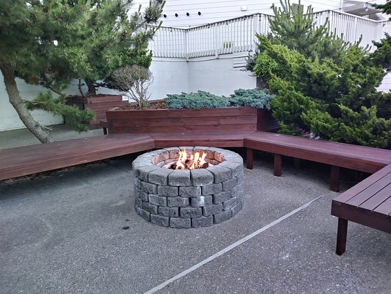 Surftides Lincoln City : Fire pit