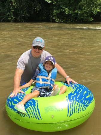 Saluda, NC: A fun float!