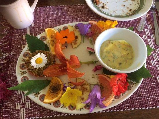 Saint Jean Port Joli, Canada: Petit déjeuner avec oeuf bénédictine.