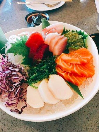 Elk Grove, CA: Sashimi platter
