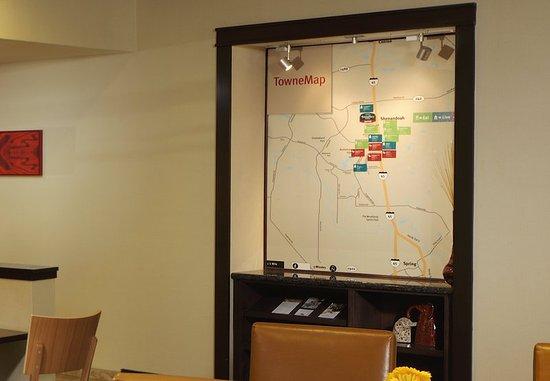 Shenandoah, Teksas: TowneMap