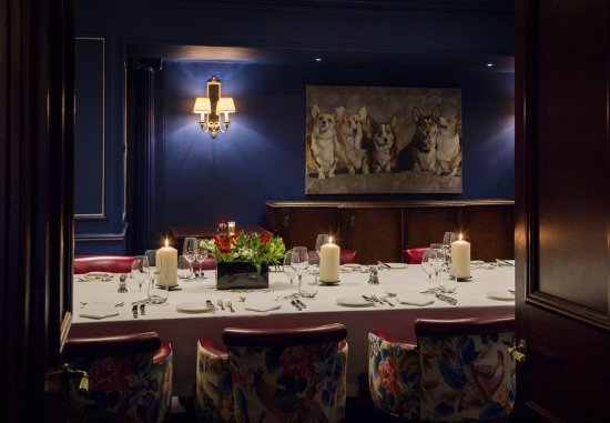 The Stafford London: The Sutherland Room