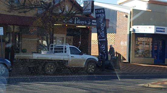 Donnybrook, Australië: Cafe Tiffany's