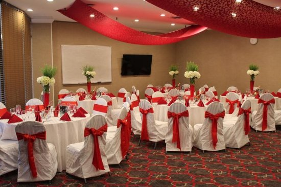 Adria Hotel And Conference Center: Annex Room Catered Setting