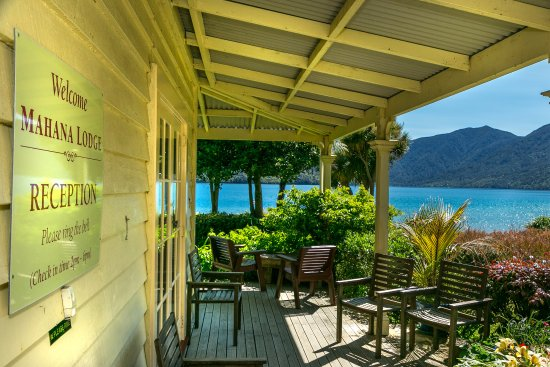 Endeavour Inlet, New Zealand: Mahana Lodge