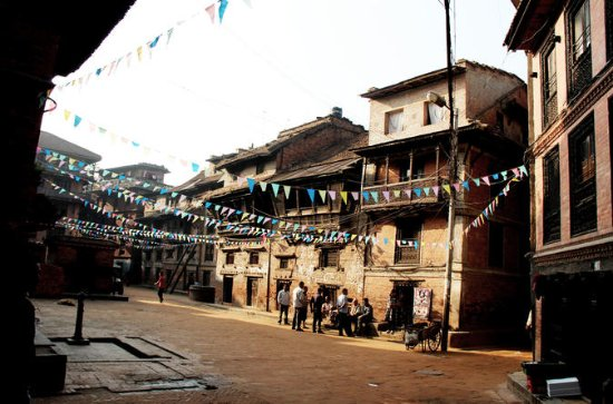 Bhaktapur at Dawn Small-Group Walking...