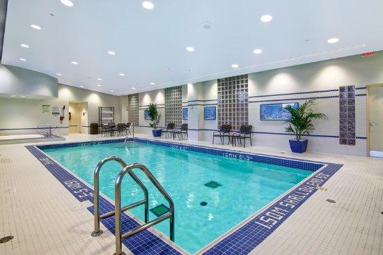 Whirlpool indoor  Indoor Saltwater Pool and Whirlpool - Picture of Hilton Garden Inn ...