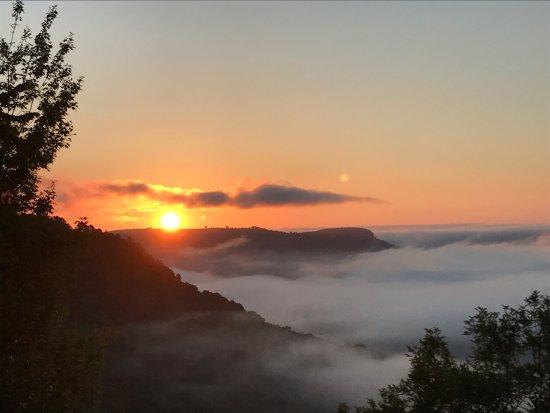 Jasper, AR: Sunrise