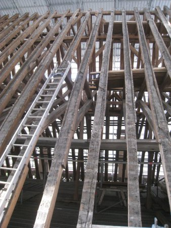 Le Grand Comble Lors De Sa Réfection - Picture Of Cathedrale St