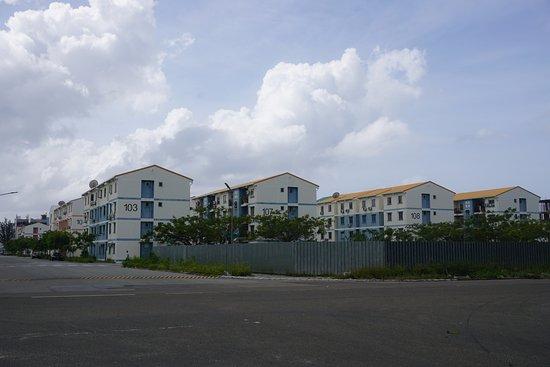 Kaafu-atollen: 整然とした街並み