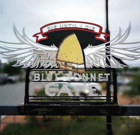 Marble Falls, Teksas: Blue Bonnet Cafe