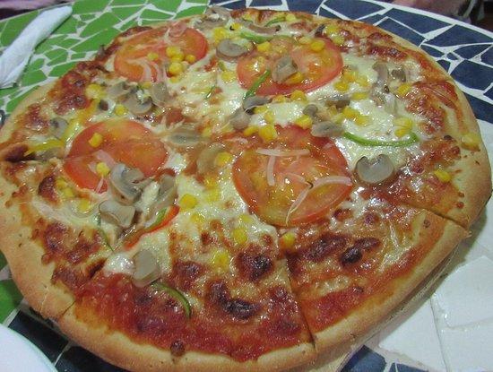 Restaurante Miconia: veg pizza