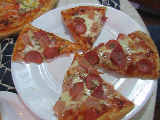 Restaurante Miconia: personal pizza