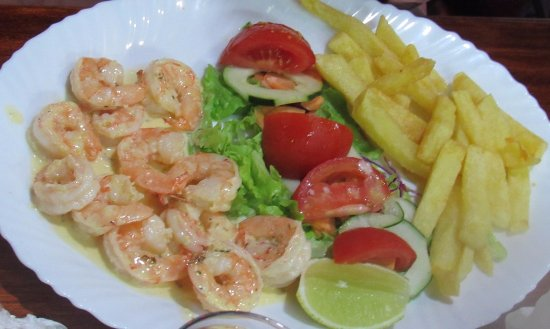 Puerto Baquerizo Moreno, Ecuador: shrimps