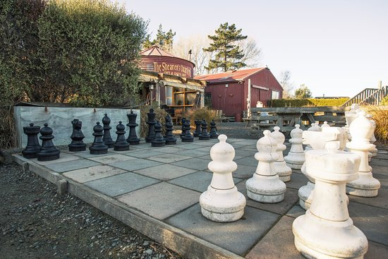Timaru, Neuseeland: Outdoor Chess Set