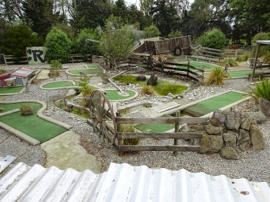 Timaru, Nueva Zelanda: Mini Golf