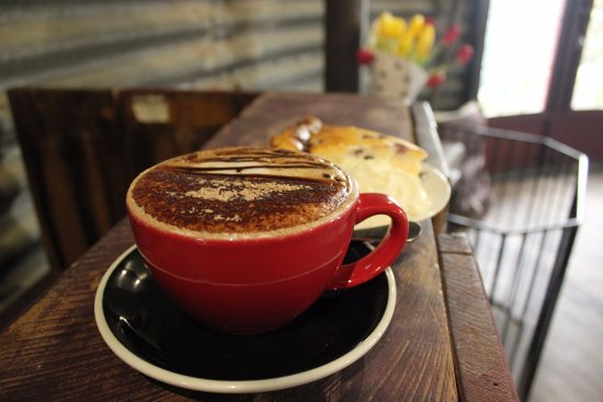 Timaru, New Zealand: Coffee @ The Shearers Quarters